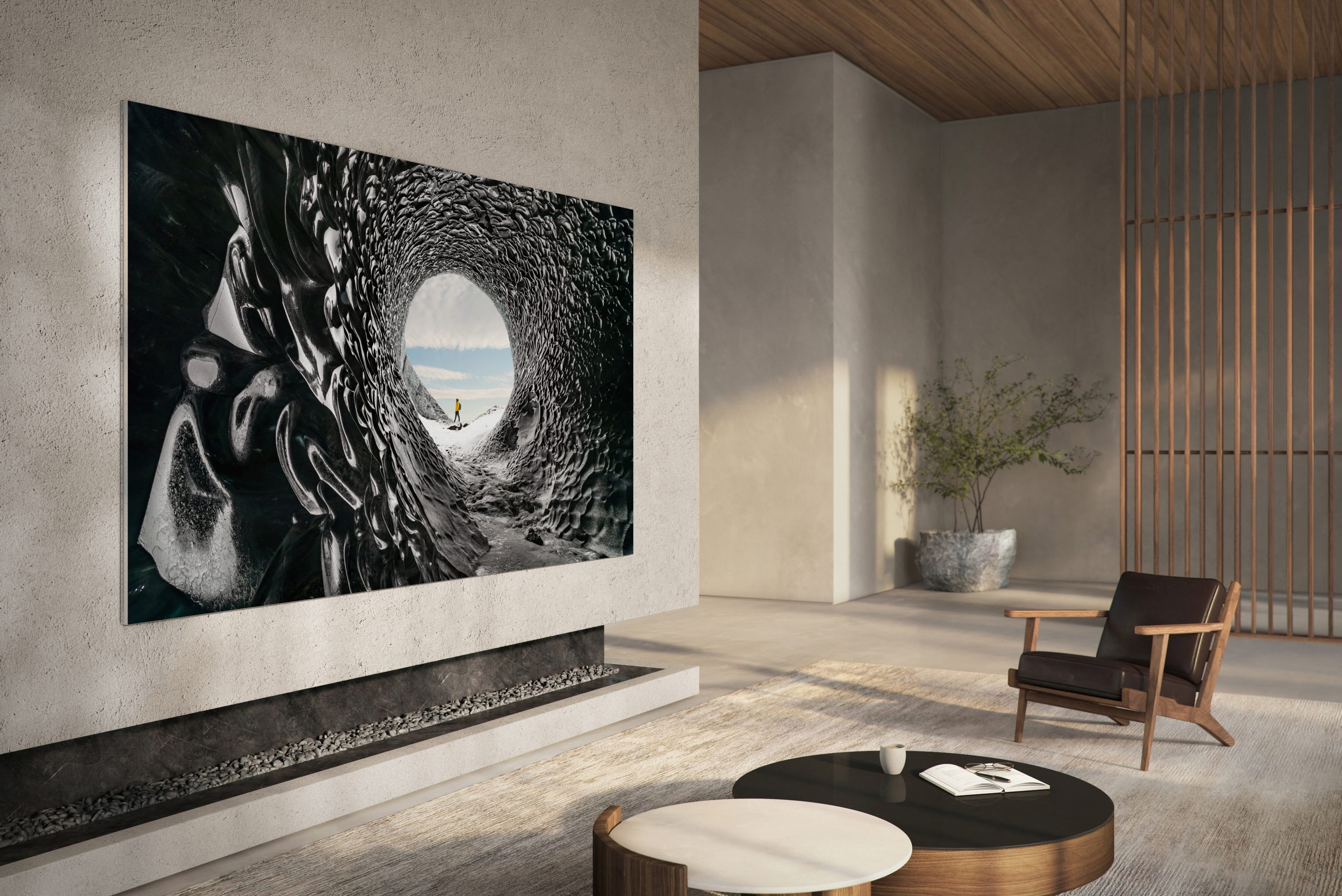 "Samsung announced the groundbreaking 110"" Samsung MicroLED."