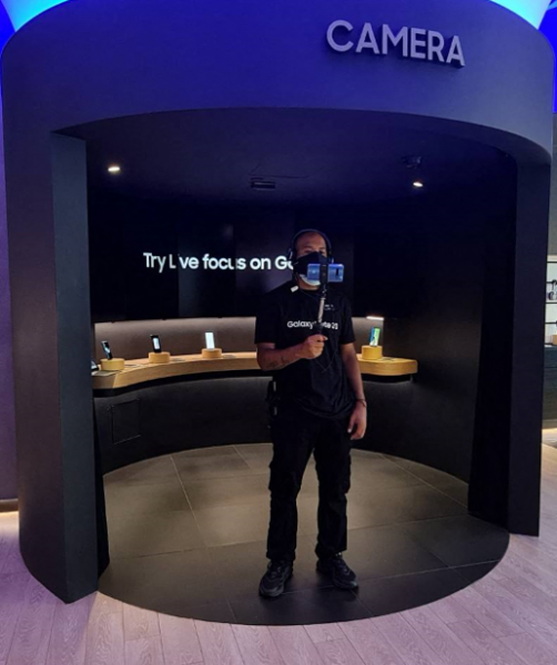 Samsung Live Virtual Assistant