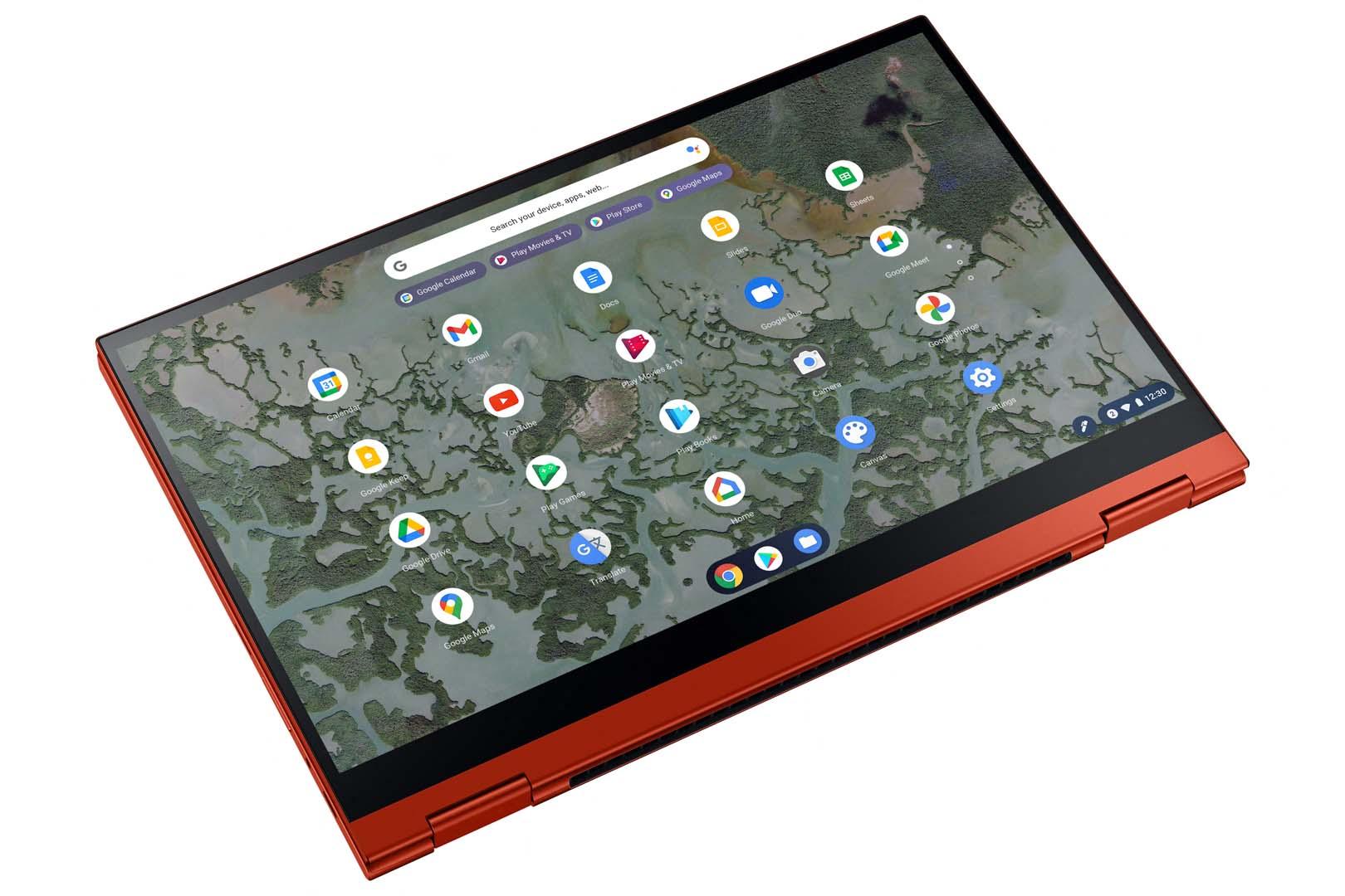 Galaxy Chromebook 2 QLED Dynamic 2 Red