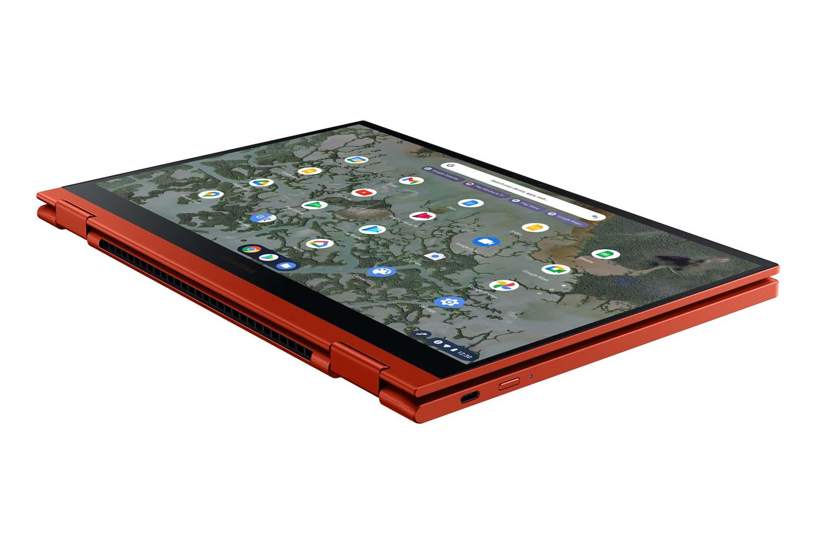 Galaxy Chromebook 2 QLED Dynamic 4 Red
