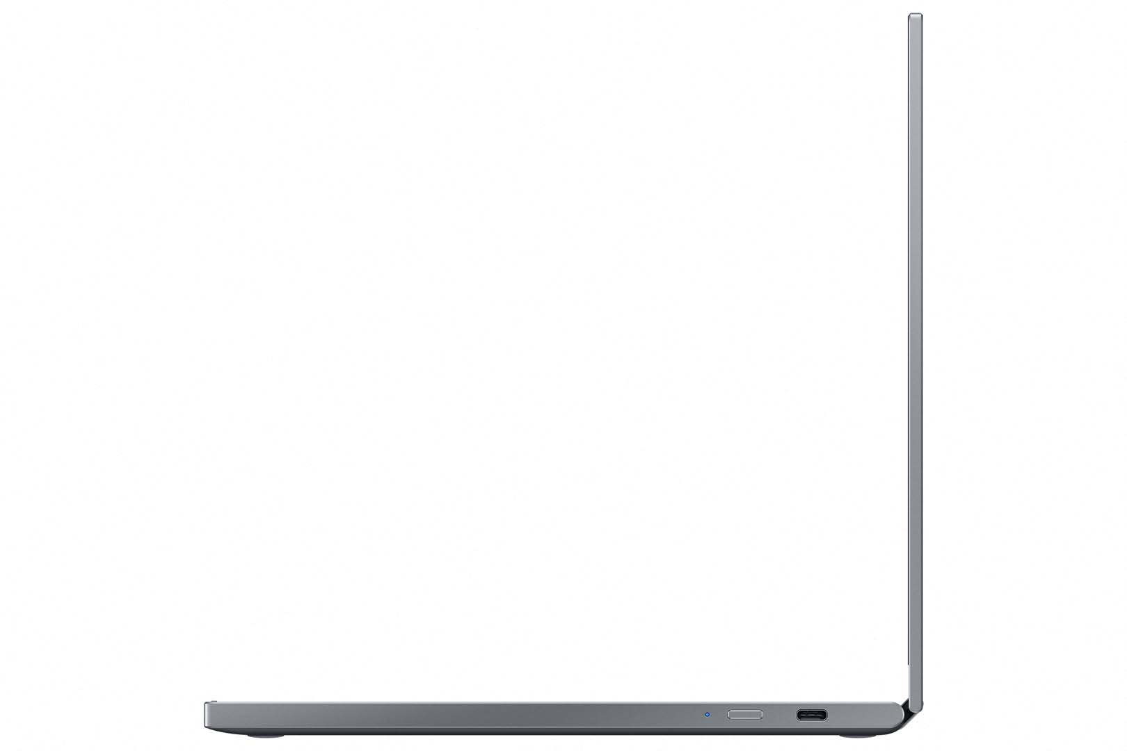 Galaxy Chromebook 2 QLED Right Port Open Gray