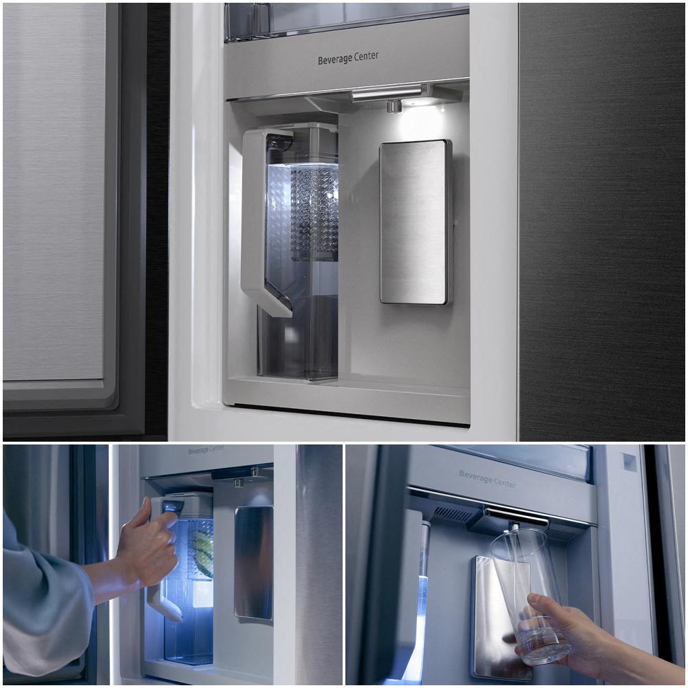 Bespoke Refrigerator 4 Door Flex Beverage Center
