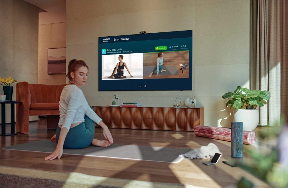 Neo QLED Samsung Health Smart Trainer