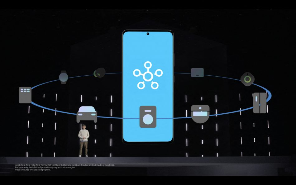 Galaxy S21 Unpacked 2021 - SmartThings