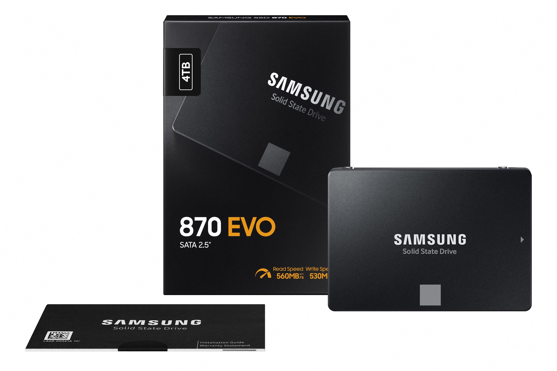 SSD 870 EVO - Packaging