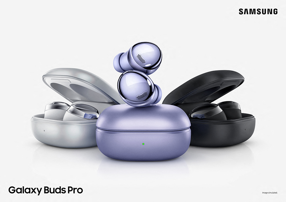 Galaxy Buds Pro – both the earbuds and the charging case – were built to help cut down on waste, using 20% recycled plastic