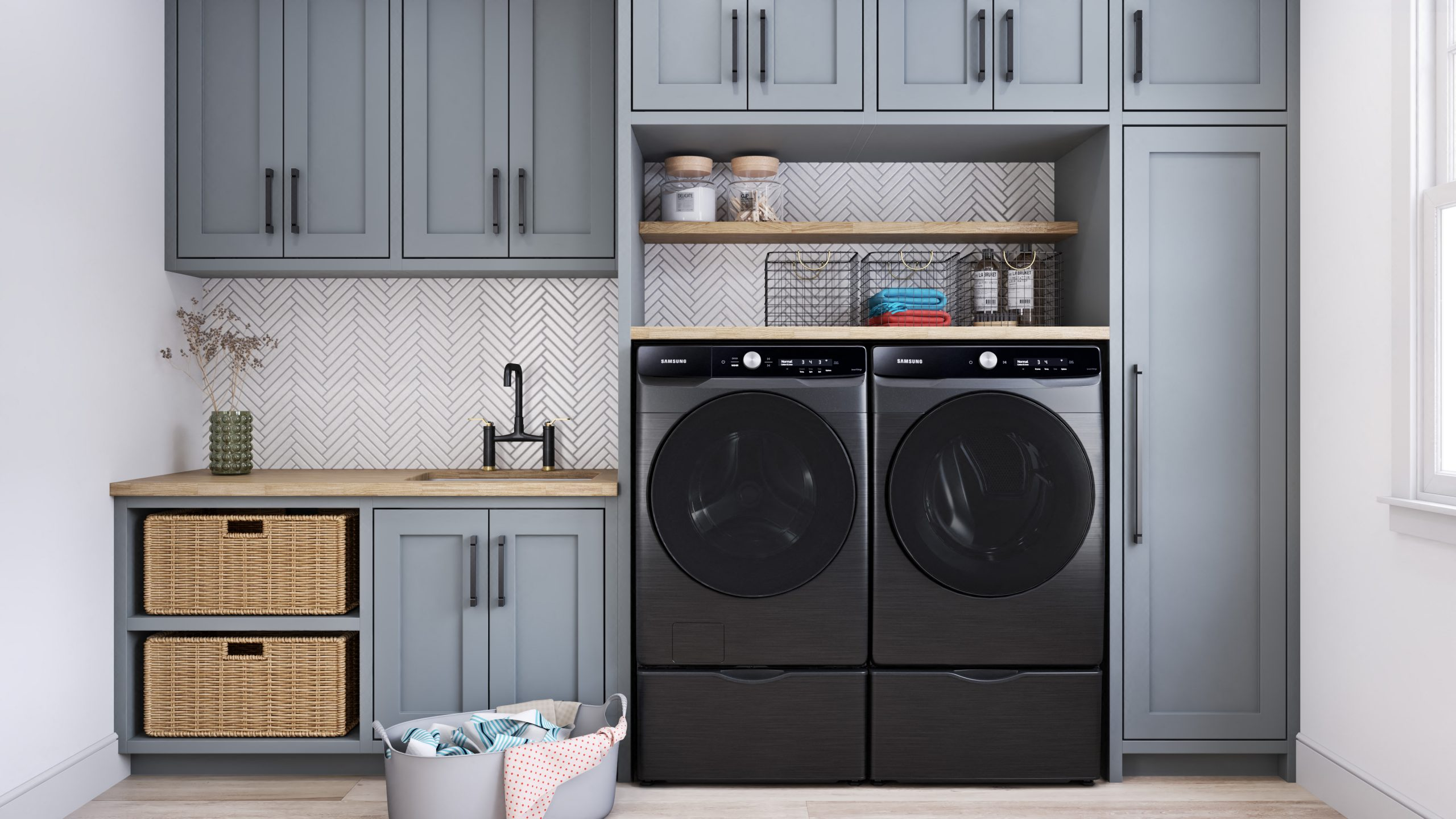 Samsung Laundry LAU8600 Side by Side (2)