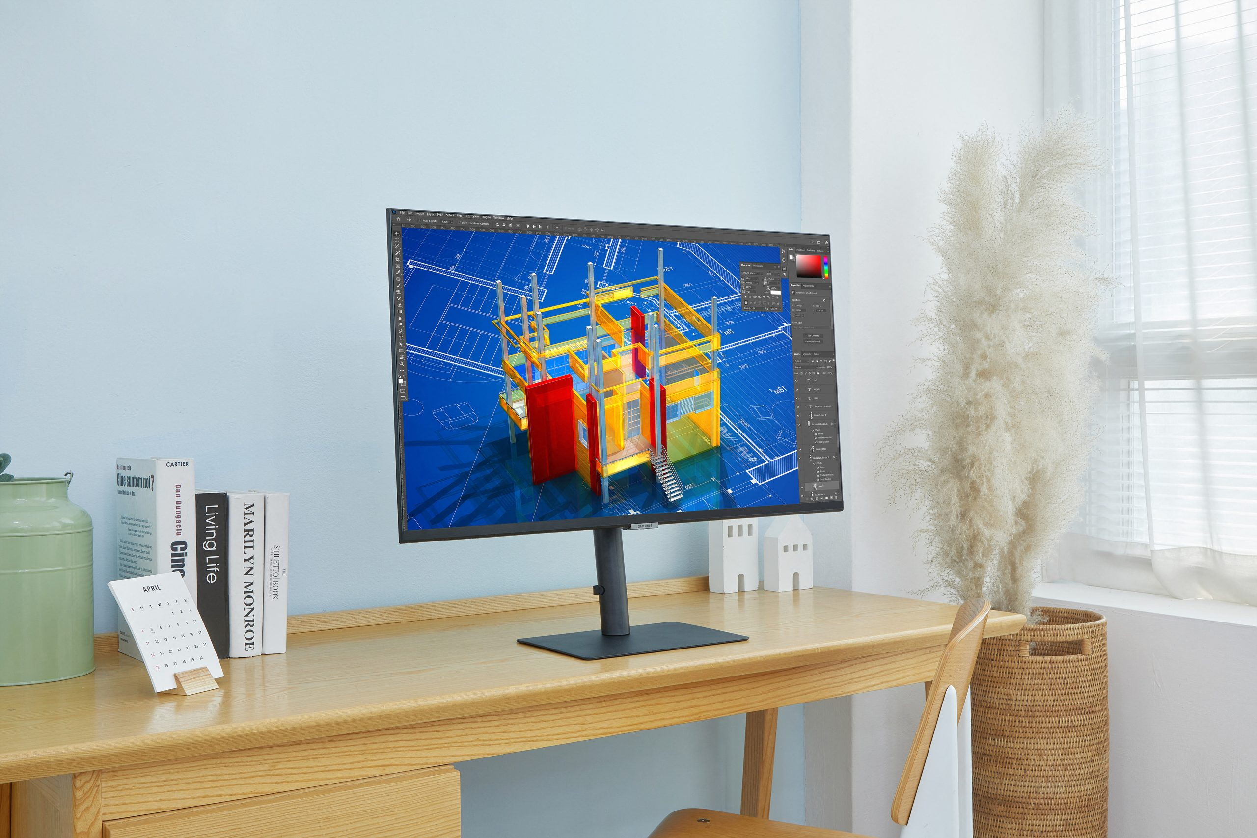Samsung Launches New High-Resolution 2021 Monitor Lineup