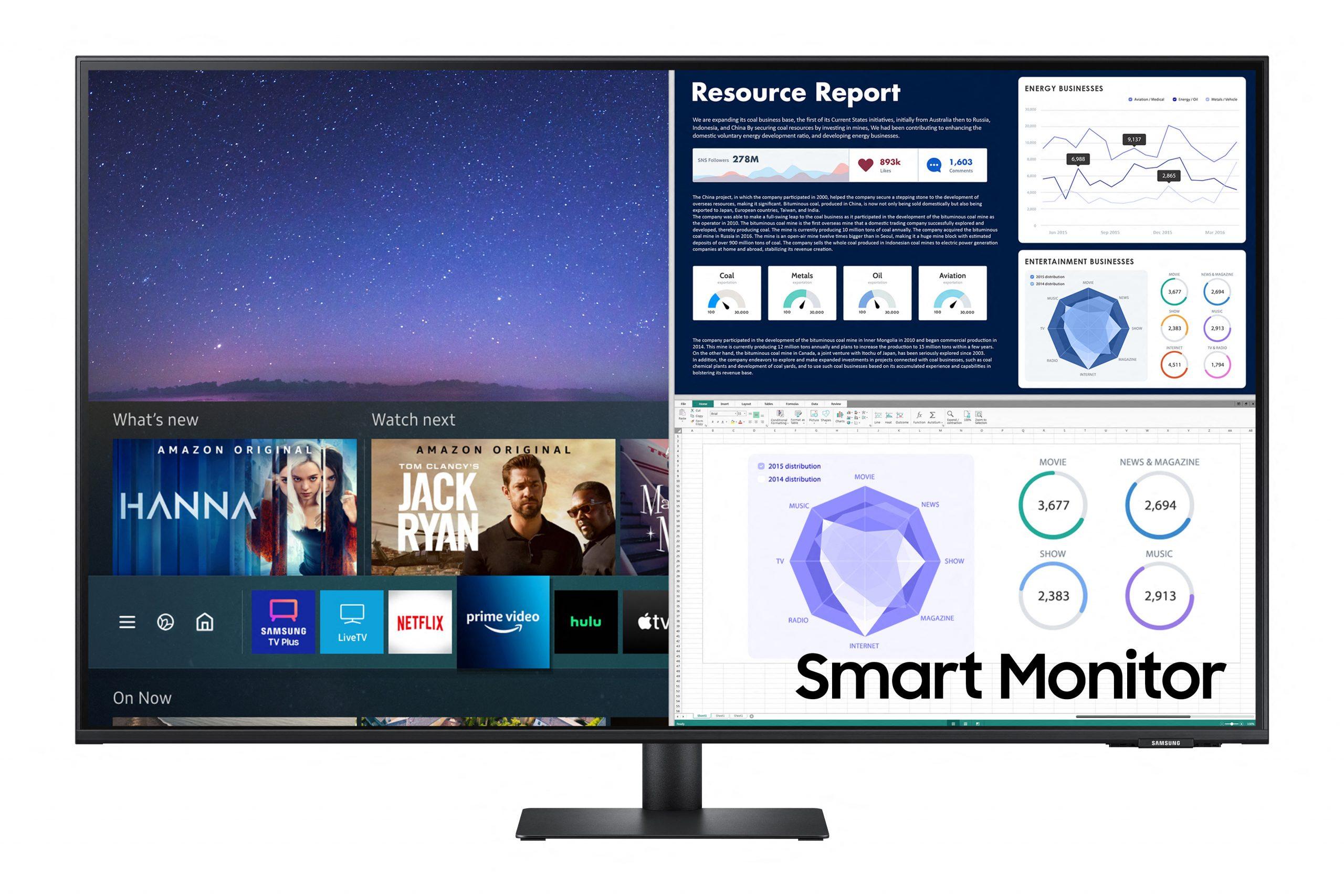 "Samsung Smart Monitor M7 43"""