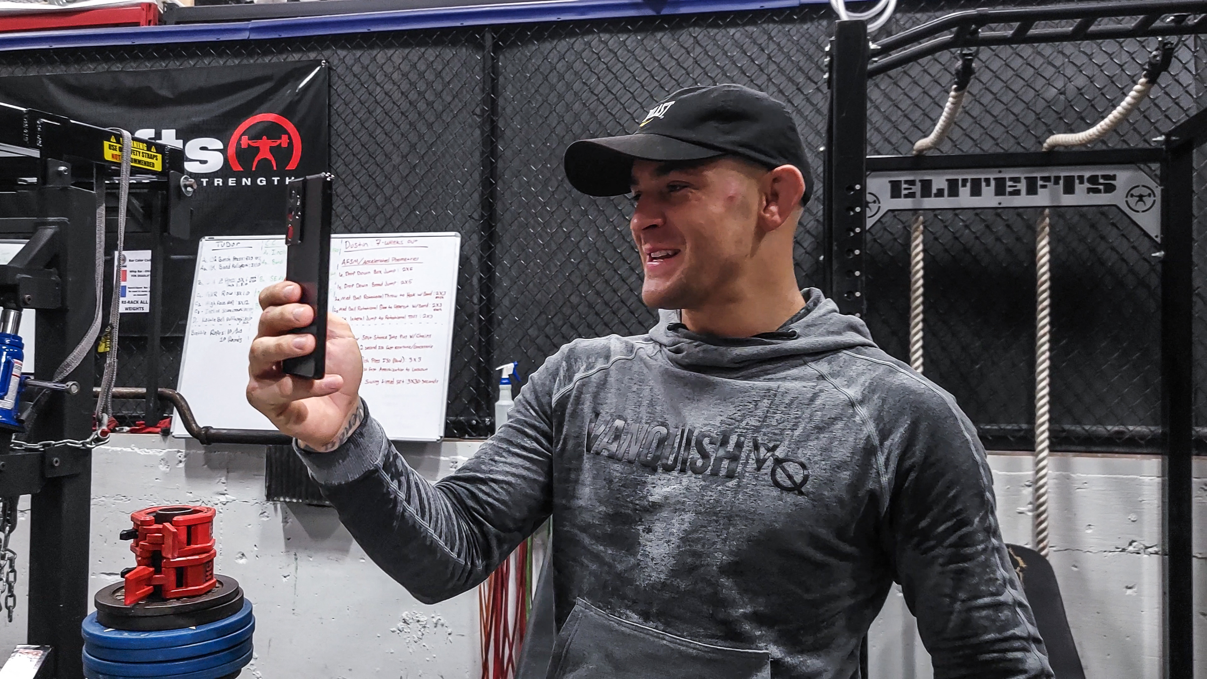 Father First, Fighter Second: Samsung S21 Ultra 5G Helps Dustin Poirier Stay Close with his Family