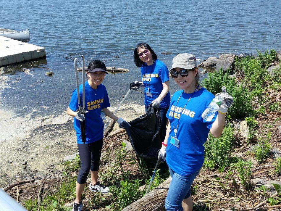 Samsung Day of Service - Hackensack Riverkeeper