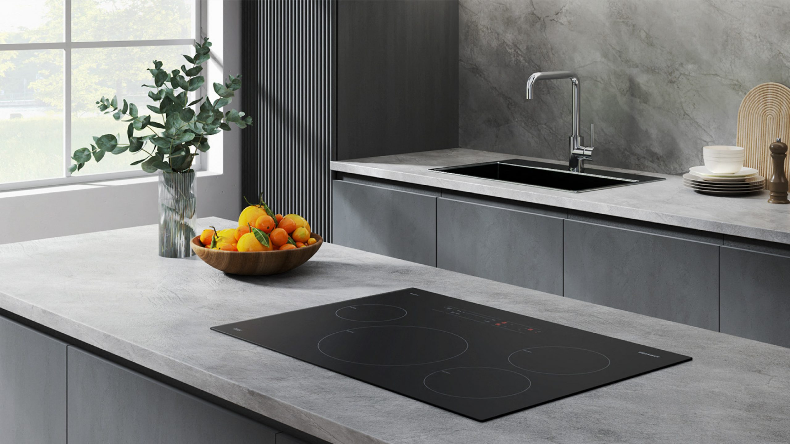 Samsung Smart Induction Built-In Cooktop with Wi-Fi