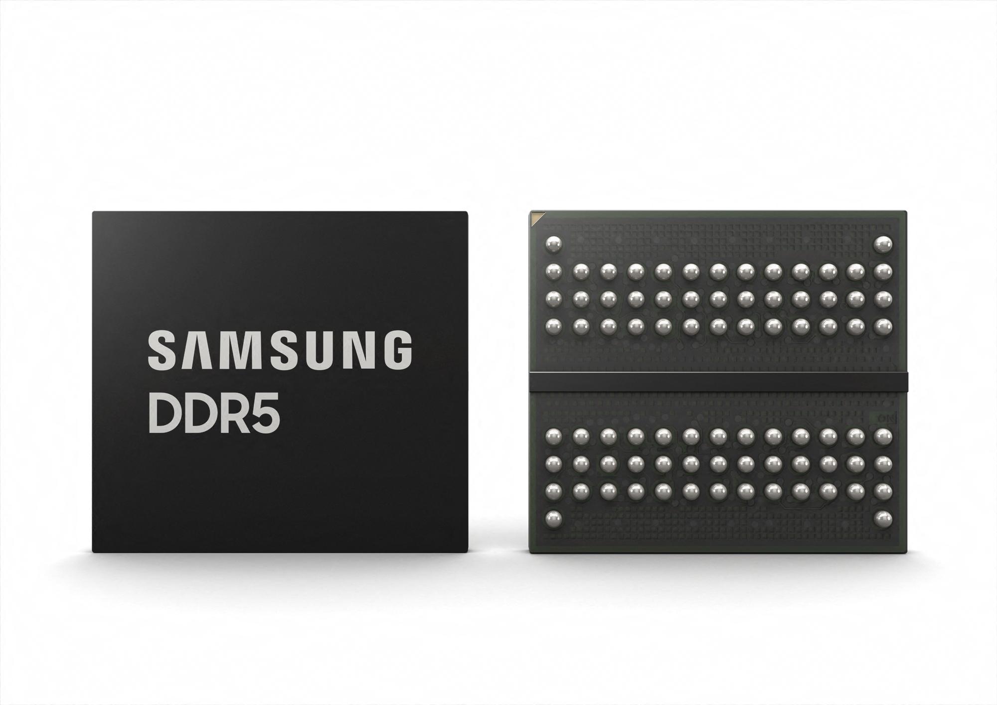 Samsung Starts Mass Production of Most Advanced 14nm EUV DDR5 DRAM